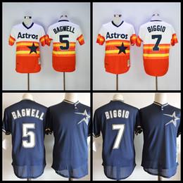 c451b089a ... throwback houston astros baseball jerseys retro 5 jeff bagwell 7 craig  biggio cooperstown ...