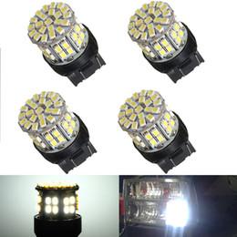 Bulb Warm Light NZ - 10x T20 7443 W21 5W 1206 50SMD Auto Car LED Brake Turn Signal Stop Rear Light Bulb Lamp Backup Reserve Lights Pure Warm White DC 12V