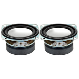 China Wholesale- 2Pcs 2Inch 4Ohm 3W Full Range Tweeter Speaker Mini Stereo Loudspeakers Box Diy Portable Speakers supplier speaker diy suppliers