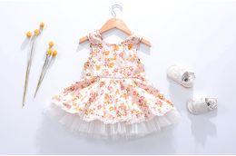 $enCountryForm.capitalKeyWord Canada - Summer Girls Dress New Baby girls floral princess Dress Baby Vest Dresses Girls TuTu Princess Skirt Children's Clothing