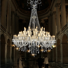 $enCountryForm.capitalKeyWord Australia - modern large crystal chandelier for foyer modern big crystal chandelier for church hall led duplex building staircase crystal pendant lamps
