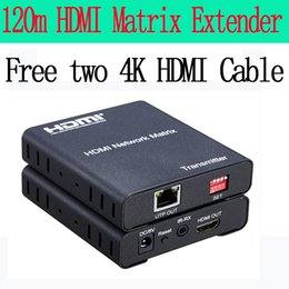 $enCountryForm.capitalKeyWord Canada - Freeshipping 1080P HDMI extender 120m RJ45 over TCP  IP Cat5e 6 Ethernet Transmitter and Receiver free two 4K hdmi cable