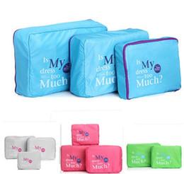 Types Set Clothes Australia - 3Pcs Set Multifunction Travel Luggage Storage Packing Bag Clothes Case Bedding Organizer New