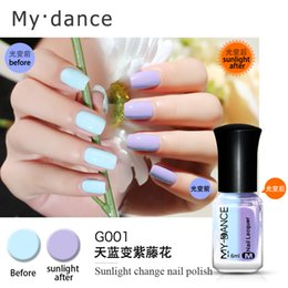Humeur Changeante Uv Vernis À Ongles Pas Cher-Magic My Dance Gel à ongles Changement de lumière Nail Mood Color UV Polish 6ml Gel For Nail Soak Off Gel Polish
