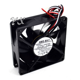 Discount nmb cooling fan - New original 311KL-04W-B59 8025 8CM 12V 0.3A three wire speed cooling fan for NMB 80*80*25mm