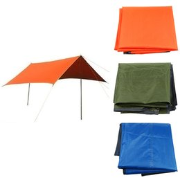 Wholesale Outdoor Person Camping Picnic Waterproof Tent Mat Pad Sleeping Mattress Hiking Shelter Rain Cover Accessory Canopy Awning