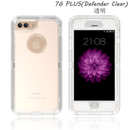 China 3 in 1 Clear Case Full Body Tough Transparent Robot Cases For iPhone X Xr Xs Max 8 7 6 Plus Samsung S7 edge S8 S9 Plus Note 9 8 suppliers