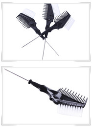 $enCountryForm.capitalKeyWord NZ - Hairdressing Color Styling Tools 3pcs set plastic hair-dyeing Hair Color Dye Comb Brushes Tool Kit Tint Coloring hair treatment professional