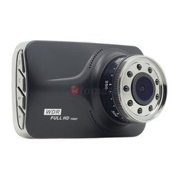 Good video recorders online shopping - Dual Lens Car Black Box IR Light Good Night Vision G Sensor Full HD P DashCam Cameras Video Recorder Car DVR