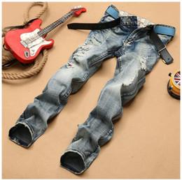 $enCountryForm.capitalKeyWord Canada - Men Distressed Straight Jeans Ripped Skinny Denim Jeans For Mens Hip Hop Casual Cool Plus Size Men Biker Jeans Pants J171105