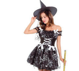 Costume De Elfes Sexy Pas Cher-Halloween Carnival Forest Elf Princess Costumes Dance Cosplay Stage Performance Witch Lace Witch Wearing Costumes sexy pour adultes