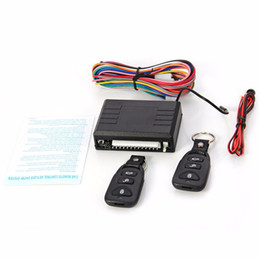 Remote centRal lock locking online shopping - 2016 Universal Car Auto Remote Central Kit Door Lock Locking Vehicle Keyless Entry System with LED Indicator Remote Controllers