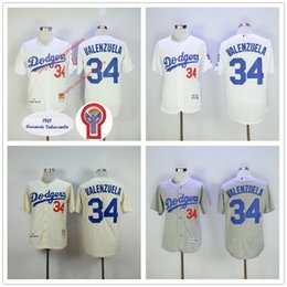2a2d7dac4 ... fernando valenzuela jersey 1981 throwback cream white flexbase  cooperstown grey los angeles dodgers