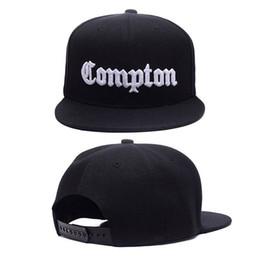 Adult Snapbacks Canada - 12 Colors Mens Compton Snapback Hats Bone Gorras Swag LA Snapbacks Compton Hip Hop Baseball Cap For Adult