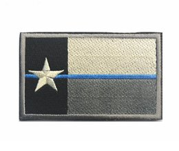 b1b02844add 3pcs Embroidery Texas Flag Patch 3D Hook And Loop Tactical Patches Fabric  Morale Armband Army Badge