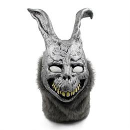 $enCountryForm.capitalKeyWord UK - Free shipping 2017 Wholesale Halloween Party Cosplay Donnie Darko Rabbit Mask Scary Animal Full Head Horror Mask Zombie Devil Skull Mask Toy