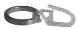 Ring Slides Australia - 20 Pcs D25mm Stainless Steel Rings With Slide Attachment