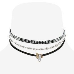 Pendant designs gothic online shopping - Fashion Gothic Snap Street Leather Choker Pendant Necklace Original Creative Design DIY Punk Choker Jewelry for Women Girls Ladies Gifts