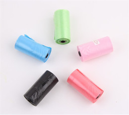 Chinese  10000 pcs = 500 Rolls Degradable Pet Poop Bags Dog Cat Waste Pick Up Clean Bag Refill Bags Promotion 20170311# manufacturers