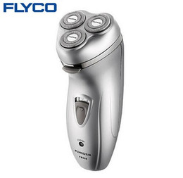 shavers for head Canada - FLYCO professional Rechargeable Electric Shaver for Men 3D Floating Head with Pop-up Trimmers Barbeador Rasoir Electrique FS330