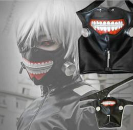$enCountryForm.capitalKeyWord Canada - 1Pc Tokyo Ghoul Cosplay Kaneki Ken Mask Adjustable Belt Halloween Party Prop Anime Mask