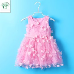 Halloween Pageant Costume Canada - 2017 spring summer Embroidered Girls Dress 3-5T Princess Dress Birthday Wedding Pageant Party Costumes Clothes