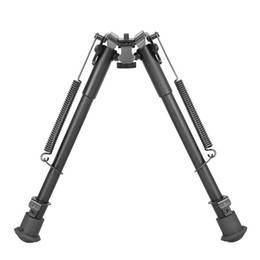 Auto Shoot UK - Tactical 9-13 Inch Bipod Auto Eject Metal Bipod Designed for Caliber for Shooting Free Shipping CL17-0033