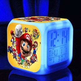 Toy Digital NZ - Hobbies Super mario bros s dolls Digital action toy figures Thermometer Night Colorful supermario Glowing toys