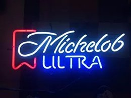 $enCountryForm.capitalKeyWord NZ - Michelob Ultra Real Glass Neon Light Sign Home Beer Bar Pub Recreation Room Game Room Windows Garage Wall Sign 18''x14''