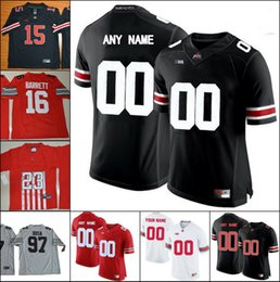 feca2ce42f5 online shopping Custom Mens Joey Bosa Ohio State Buckeyes College Jerseys  Limited Personalized Stitched Any Name