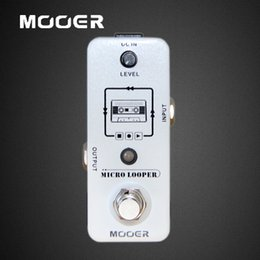 Mooer Pedals Australia - MOOER Micro Looper Loop Recording Pedal True Bypass Guitar effect pedal