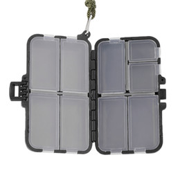 Fishing Lure Store Canada - Fishing Tackle Boxes Fishing Accessories Case Fish Lure Bait Hooks Tackle Tool for Storing Swivels, Hooks, Lures, etc