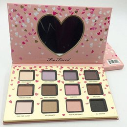 Big eye shadow palette online shopping - The Power of Makeup Palette colors kawayi Eyeshadow Palette With Big Heart Shaped Mirror eye shadow