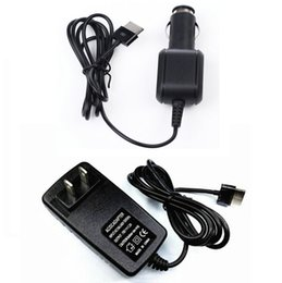 15v charger NZ - Wholesale- Portable 15V 1.2A Car Charger + Home Charge AC DC Wall Power Charging Adapter For Asus VivoTab TF600 TF600T TF701 TF701T TF810C