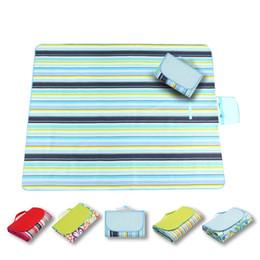 Folding picnic mats online shopping - Outdoors Picnic Mat Moisture Proof Pad Fold Baby Creeping Mats Sandy Beach Outdoor Camping Cushion Colorful Waterproof Simple Hot lt J1