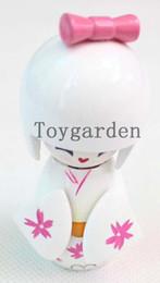 $enCountryForm.capitalKeyWord Canada - wholesale white Vintage Japanese small lovely Kokeshi doll 10 pcs free shipping