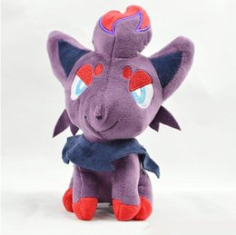 Pokemon Toys Movie Australia - Poke Plush Toys 20cm Pocket Monster Stuffed Dolls Zoroark Plush Toys New Dolls Christmas Gifts Free Shipping