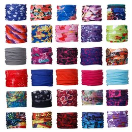 magic stars Canada - Newest Fashion Multifunctional scarf Headband Outdoor Sports Turban Sunscreen Magic Scarves Veil Cycling Seamless bandanas 2175