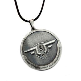 $enCountryForm.capitalKeyWord Canada - World of Warplanes Game Pendant Necklaces Alloy Leather Chain Necklaces & Pendants For Unisex Gift Hot Sale