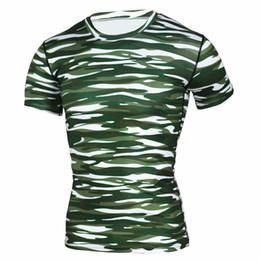 $enCountryForm.capitalKeyWord Canada - fashion Men Compression Shirts short Sleeve Cosplay Costume Tops Male Fitness clothing Tights