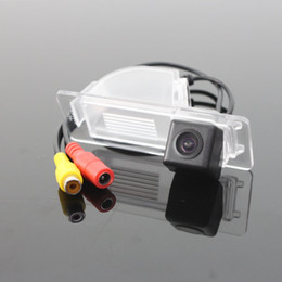 rear view camera volkswagen Canada - Car Rear View Camera For Volkswagen VW Jetta Reverse Camera   HD CCD RCA NTST PAL   License Plate Light OEM