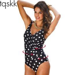 $enCountryForm.capitalKeyWord Australia - TQSKK 2017 Newest One Piece Swimsuit Women Plus Size Swimwear Retro Vintage Bathing Suits Beach Wear Print Swim Wear Monokini