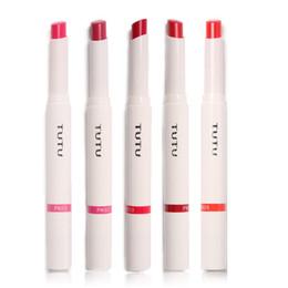 Nuevo 5 colores a prueba de agua de larga duración brillo de labios Vampire Style maquillaje Lipstick mate Lip Stick en venta