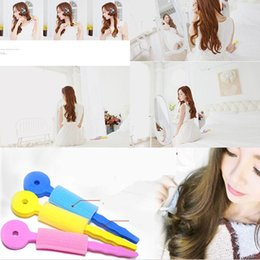 Diy Curls Hair Rollers Australia - Magic Sponge Soft Hair Curler Tools Bendy DIY Hair Roller Curling Accessories #R571