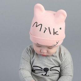 $enCountryForm.capitalKeyWord NZ - Cheap Baby Kid's Knit Hats Milk Baby Knitted Hats Baby Beanies Hats Winter 1-4 Years Old Children Girls Boy Wool Warm