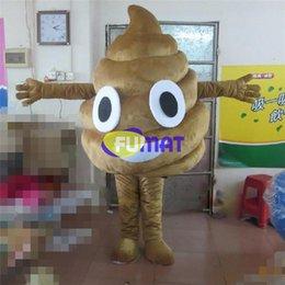 FUMAT Merda Traje Da Mascote Dos Desenhos Animados de Mascote Traje Fancy Dress Natal Adulto Mascote Para Promoção Anunciar Imagem Personalização