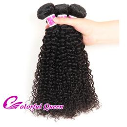 Brazilian Kinky Curly Braiding Hair UK - Brazilian Human Hair Weft 3 Pcs Lot 300g Brazilian Virgin Hair Bundles Kinky Curly Weaves Cheap Brazilian Curly Hair Extension Crochet Braid