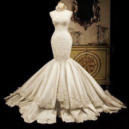 Discount Watteau Plus Size Wedding Dresses 2017 Watteau Plus