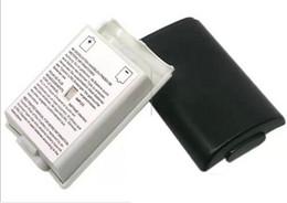 Aa bateria pacote tampa shell shell case kit para xbox 360 controlador sem fio da bateria cobre substituição