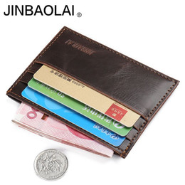 $enCountryForm.capitalKeyWord NZ - Wallet men top quality small credit card wallet mini ultral thin wallet purse one piece leather purse male clutch